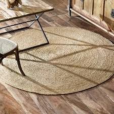 accessories attractive 8 foot round rug jute material natural color casual style traditional area rugs alluring
