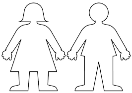 Best Photos Of Boy Cut Out Pattern Boy And Girl Cut Out Template