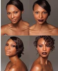 makeup for dark skin via makeup by sam fine contouring