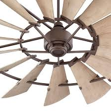 details about quorum windmill ceiling fan 196015 86 indoor outdoor 60 oiled bronze damp rated