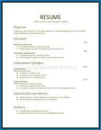 Sample First Resume Teenager Best of No Work For High School Student With Sample College First Experience