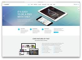 awesome flat design wordpress themes colorlib the7 creative flat design multipurpose theme