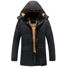 <b>Men's Plus Velvet Warm</b> Winter Leather Jacket Casual Fashion Top ...