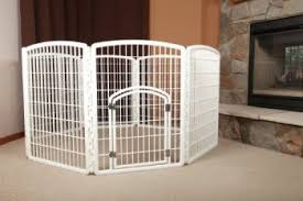 dog gates for house. Containment Pet Pen For Dogs Is A Convenient Enclosure Your Dog. It Includes 8 Interlocking Panels, 26.0\u2033 Wide And 34.25\u2033 High Each. Dog Gates House