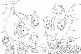 Small Picture Fish Coloring Pages Coloring Book of Coloring Page