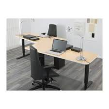 bekant 5 sided desk sitstand birch veneerblack ikea bekant desk sit stand screen