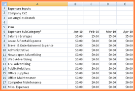 Business Budget Spreadsheet Business Expenses Spreadsheet Excel Spreadsheet Spreadsheet