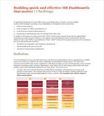 hr dashboard template hr dashboard template 21 free word excel pdf documents download