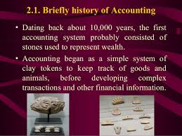 Historical And Development Of Accounting
