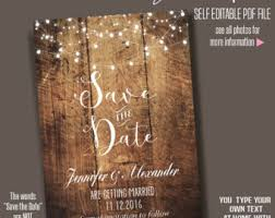 save the date template free download wedding save the dates etsy nz