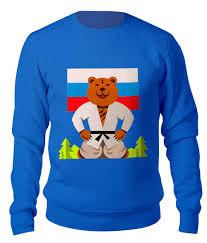 """Свитшот унисекс хлопковый """"Русский <b>медведь</b>"""" #2591876 от ..."""
