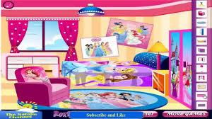 Princess Bedroom Decoration Games Cinderella Style Room Decoration Disney Princess Game For Children