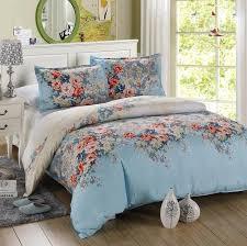 microfiber bedding set. Fine Bedding 4PCS Twin Full Size Luxury Comforter Set Microfiber Sheets Turquoise Bedding  Blue Orange Green Peony Flowers To Microfiber Bedding Set L