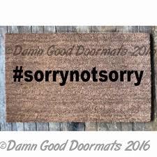 Doormats Stfu Shut The Fuck Up Hashtag Rude Doormat From Damn Good ...