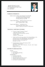 Sample Resume Fresh Graduate Accounting Student Topshoppingnetwork Com