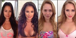 what do stars look like without makeup