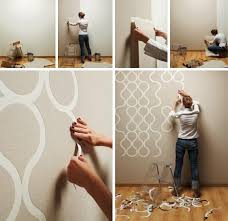 Cool Easy Wall Paint Designs Let 'er Rip Cool New Home Wallpaper For DIY  Room