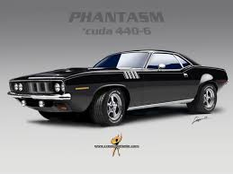 HORROR FILMS AND MUSCLE CARS: THE PHANTASM INSPIRED 1971 BARRACUDA ...
