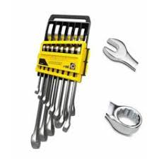 Buy <b>Stanley 14 Pieces</b> Metric CRV Steel Combination Spanner Set ...