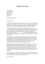 cover letter audit examples internal audit cover letter