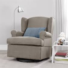 glider rocker swivel chairs. glider rocker recliner | with ottoman double nursery swivel chairs
