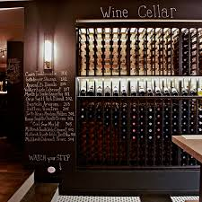 designing restaurant shelving wine bar design