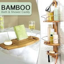 bamboo shower caddy kmart