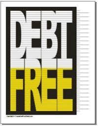 Free Printable Debt Free Charts Printable Debt Free Chart Debt Free Charts