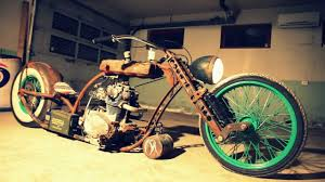 flesh wound rat bike with air suspension youtube