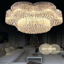 fabulous crystal lighting fixtures new flush mount big crystal chandelier lighting fixtures led lamp modern crystal