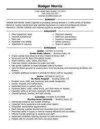 Custodian Resume Awesome 9824 Custodian Resume Examples Musiccityspiritsandcocktail