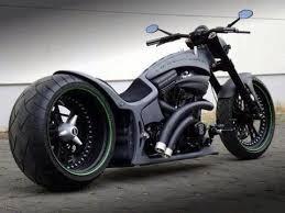 flat black custom chopper machines that make you say wow