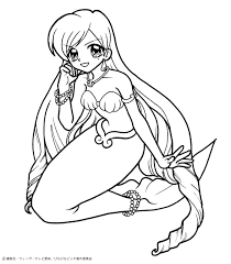 Small Picture Noel mermaid princess coloring pages Hellokidscom
