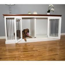 pet crate furniture. Eagle Furniture Large Double Wide Dog Crate Credenza Pet A