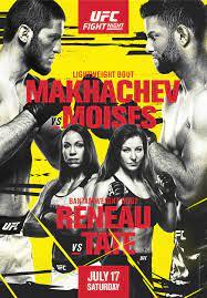 UFC Fight Night – Makhachev vs Moises ...