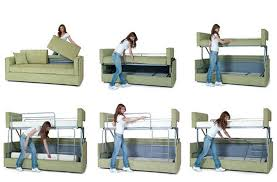 couch bunk bed transformer. Beautiful Bed Coupe Sofa Transforms Into A Bunk Bed In Seconds Inside Couch Transformer