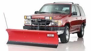 WESTERN® Suburbanite™ Personal-Use Snowplow | Western Products