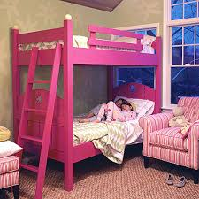 Fence Bunk Bed and Luxury Kid Furnishings Including Armoires in
