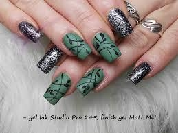 Gel Lak Studio Pro 245 6ml Khaki Zelená