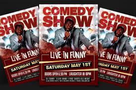 Comedy Show Flyer Template Comedy Show Flyer Template Psd Dezines24go 7