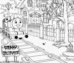 Halloween Full Page Thomas The Train