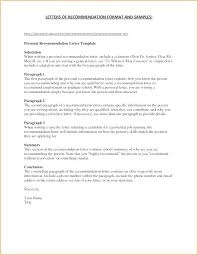 Recommendation Letter For Job Referral Reference Template