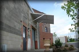 corrugated metal awnings and canopies