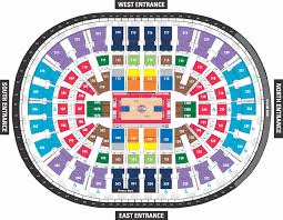 Palace Of Auburn Hills Seating Chart With Rows Auburn Hills Palace Seating Chart Seating Chart