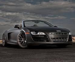 audi r8 convertible matte black. Modren Black Matte Black Audi R8 Spyder For Convertible T