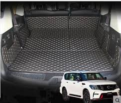 2018 nissan y62. brilliant nissan special trunk mats for nissan patrol y62 7seats 20182011 waterproof boot inside 2018 nissan y62 e