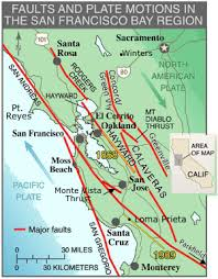 Click on a marker for more info. Fault Zones Northern California