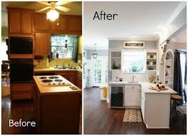 Inexpensive Kitchen Remodeling Kitchen Kitchen Before And After Inexpensive Kitchen Makeovers