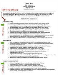 List Of Resume Skills Interesting Sample Resume SkillsResume Example Resume Example