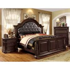2 brown bedroom sets. furniture of america angelica english style brown cherry 3-piece bedroom set 2 sets i